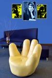 Conception intérieure Photo stock