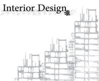 Conception intérieure Illustration de Vecteur