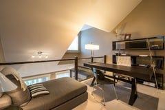 Conception intérieure confortable de siège social Images stock
