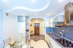 Conception intérieure d'appartement blanc photo libre de droits