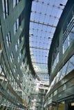 Conception intérieure d'arcade d'achats de Petersbogen à partir de 2001 à Leipzig Photo stock