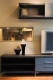 Conception intérieure de belle et moderne salle de séjour. Images libres de droits