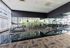 Conception intérieure de centre de fitness, gymnase Image libre de droits