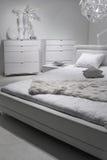 Conception intérieure de chambre à coucher moderne. Image stock