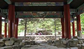 Conception intérieure de JARDIN ROYAL EN CHINE Photographie stock libre de droits