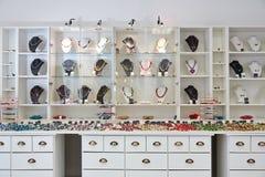 Conception intérieure de magasin de bijoux Images libres de droits
