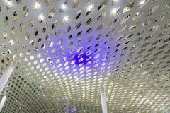 Conception intérieure 2 de plafond d'aéroport photo stock