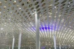Conception intérieure 3 de plafond d'aéroport photos libres de droits