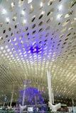 Conception intérieure de plafond d'aéroport photo libre de droits