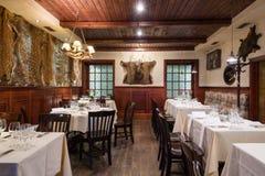 Conception intérieure de restaurant photos libres de droits