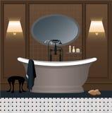 Conception intérieure de salle de bains Image stock