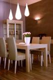 Conception intérieure de salle de séjour élégante et de luxe. Image libre de droits