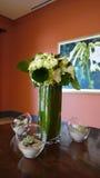 Conception intérieure florale Image stock