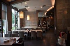 Conception intérieure pour un restaurant images libres de droits