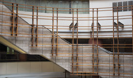 Conception intérieure de centre commercial moderne Photos libres de droits