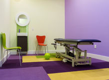 Conception intérieure de pièce de massage Photo libre de droits