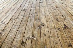 Conception intérieure - plancher en bois Photographie stock