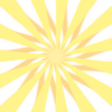 Conception jaune de 3D Starburst photo stock