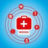 Conception médicale Photo stock