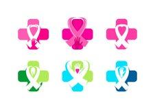 Conception médicale de symbole de conscience Image stock