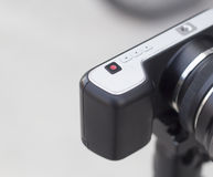 Conception minimale d'appareil-photo classique de Mirrorless Image libre de droits