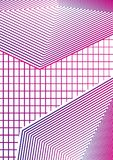 Conception minimale géométrique simple 02 de couvertures Couverture abstraite moderne Image libre de droits