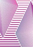 Conception minimale géométrique simple 02 de couvertures Couverture abstraite moderne Futur calibre de brochure Photos stock