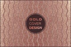 Conception minimale moderne et élégante Fond brillant de cuivre Texture métallique Métal en bronze Photographie stock