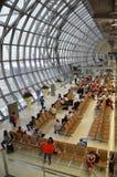 Conception moderne d'aéroport international de Bangkok à Bangkok Photographie stock