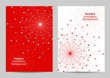 Conception moderne de couverture de brochure Images libres de droits