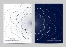 Conception moderne de couverture de brochure Photographie stock