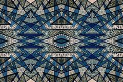 Conception mystérieusement numérique d'art des étoiles de verrouillage Illustration Stock