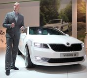 Conception neuve de skoda Photo libre de droits