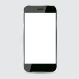 Conception noire de vecteur de smartphone Photo libre de droits