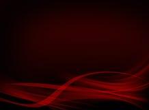 Conception noire et rouge élégante de fond illustration stock