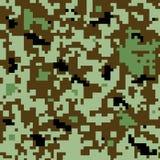 Conception numérique de modèle-couleur de camouflage Images libres de droits