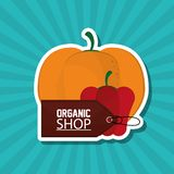 Conception organique de magasin, illustration de vecteur illustration de vecteur