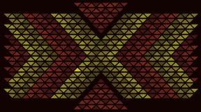 Conception orientale de kilim Photos stock