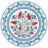 Conception orientale vingt-six de tabouret illustration stock