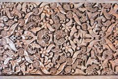 Conception ornementale de dorado de Cuarto de pièce Gilded d'Alhambra Images libres de droits