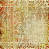 conception Paisley de batik de fond d'artisti Photos libres de droits