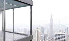 Conception panoramique de balcon Images libres de droits