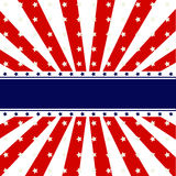 Conception patriotique de fond illustration stock