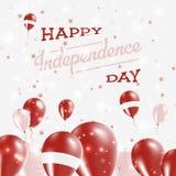 Conception patriotique de Jour de la Déclaration d'Indépendance de la Lettonie Photo libre de droits