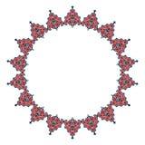 Conception persane de motif photo stock
