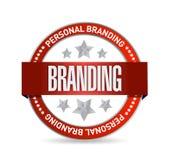 Conception personnelle d'illustration de joint de marque illustration libre de droits