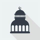 conception plate d'art musulman islamique de soulagement de mosquée, bâtiment de web design de seo Photographie stock