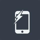 conception plate de seo de site Web d'icône de smartphone, icône d'instrument Photo stock