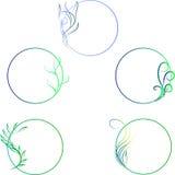 Conception pour les objets ronds illustration stock
