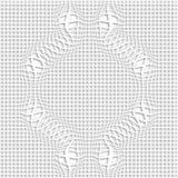 Conception sans couture abstraite du modèle 3d Photographie stock libre de droits